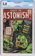 Silver Age (1956-1969):Superhero, Tales to Astonish #27 (Marvel, 1962) CGC GD/VG 3.0 Light tan to off-white pages....