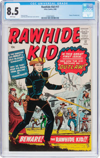 Rawhide Kid #17 (Marvel, 1960) CGC VF+ 8.5 White pages