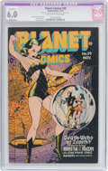 Golden Age (1938-1955):Science Fiction, Planet Comics #39 (Fiction House, 1945) CGC Apparent FN 6.0 Slight(A) Off-white to white pages....