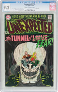 Silver Age (1956-1969):Horror, Unexpected #113 (DC, 1969) CGC NM- 9.2 Cream to off-white pages....