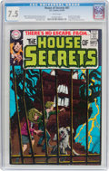 Silver Age (1956-1969):Mystery, House of Secrets #81 (DC, 1969) CGC VF- 7.5 White pages....