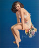After Rolf Armstrong (American, 1889-1960) Twinkle Toes Calendar, 1950 Lithograph in colors 30.25 x 16 in. Signed in