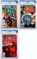Modern Age (1980-Present):Science Fiction, Star Wars #56, 61, and 62 CGC-Graded Group (Marvel, 1982)....(Total: 3 Comic Books)