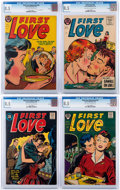 Golden Age (1938-1955):Romance, First Love Illustrated #49-52 CGC-Graded File Copies Group (Harvey, 1955) CGC VF+ 8.5.... (Total: 4 Comic Books)