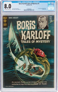 Silver Age (1956-1969):Horror, Boris Karloff Tales of Mystery #3 (Gold Key, 1963) CGC VF 8.0Off-white to white pages....