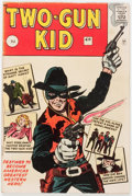Silver Age (1956-1969):Western, Two-Gun Kid #60 Handwritten Issue Number Variant - British Edition(Marvel, 1962) Condition: VG+....