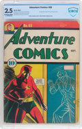 Golden Age (1938-1955):Superhero, Adventure Comics #66 (DC, 1941) CBCS GD+ 2.5 Off-white to white pages....