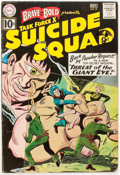 Silver Age (1956-1969):Adventure, The Brave and the Bold #37 Suicide Squad (DC, 1961) Condition: GD/VG....