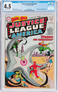 Silver Age (1956-1969):Superhero, The Brave and the Bold #28 Justice League of America (DC, 1960) CGC VG+ 4.5 Cream to off-white pages....