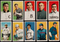 Baseball Cards:Lots, 1909-11 T206 White Borders Collection (10) With HoFer & SLer....