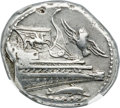 Ancients:Greek, Ancients: LYCIA. Phaselis. Ca. 4th century BC. AR stater (22mm,10.32 gm, 6h). NGC AU 4/5 - 5/5....