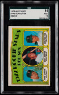Baseball Cards:Singles (1970-Now), 1972 O-Pee-Chee Carlton Fisk - Red Sox Rookie Stars #79 SGC 86 NM+7.5....
