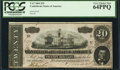 Confederate Notes:1864 Issues, T67 $20 1864 PF-11 Cr. 511.. ...