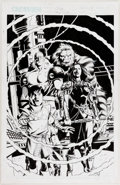 Original Comic Art:Splash Pages, Paul Ryan and Pablo Marcos Crux #17 Splash Page 1 OriginalArt (CrossGen, 2002)....