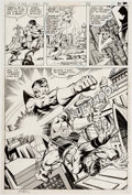 Original Comic Art:Panel Pages, Jim Starlin and Joe Rubinstein (as Josef Rubinstein) Superboyand the Legion of Super-Heroes #239 Story Page 25 Or...