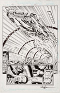 Rod Whigham, Philip Moy, and Art Nichols Men In Black: The Movie #1 Story Page 3 Comic Art