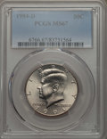 Kennedy Half Dollars, 1994-D 50C MS67 PCGS. PCGS Population: (61/1). NGC Census: (33/3)....
