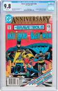 Modern Age (1980-Present):Superhero, The Brave and the Bold #200 (DC, 1983) CGC NM/MT 9.8 Whitepages....
