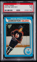Hockey Cards:Singles (1970-Now), 1979 Topps Wayne Gretzky #18 PSA NM 7....