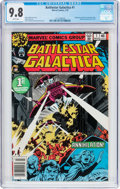 Bronze Age (1970-1979):Science Fiction, Battlestar Galactica #1 (Marvel, 1979) CGC NM/MT 9.8 White pages....
