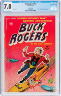 Golden Age (1938-1955):Science Fiction, Buck Rogers #101 (#8) (Toby Publishing, 1951) CGC FN/VF 7.0 Whitepages....
