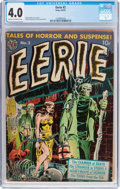 Golden Age (1938-1955):Horror, Eerie #2 (Avon, 1951) CGC VG 4.0 Cream to off-white pages....