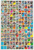 Football Cards:Sets, 1984 Topps Football Uncut Sheet With Elway and Marino Rookie Cards. ...