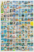 Baseball Cards:Unopened Packs/Display Boxes, 1985 Topps Baseball Uncut Sheet With Mark McGwire Rookie. ...