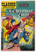 Golden Age (1938-1955):Classics Illustrated, Classics Illustrated #53 A Christmas Carol (Gilberton, 1948)Condition: VG+....