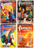 Pulps:Science Fiction, Fantastic Adventures Group of 19 (Ziff-Davis, 1940-52) Condition:Average GD.... (Total: 19 Comic Books)