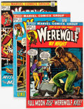 Bronze Age (1970-1979):Horror, Werewolf by Night Group of 27 (Marvel, 1972-77) Condition: AverageVG+.... (Total: 27 Comic Books)