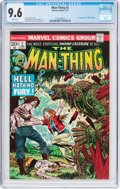 Bronze Age (1970-1979):Horror, Man-Thing #2 (Marvel, 1974) CGC NM+ 9.6 White pages....