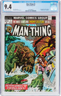 Bronze Age (1970-1979):Horror, Man-Thing #3 (Marvel, 1974) CGC NM 9.4 Off-white to white pages....