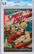 Golden Age (1938-1955):Science Fiction, Space Patrol #2 (Ziff-Davis, 1952) CGC VG/FN 5.0 Off-whitepages....