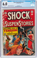 Golden Age (1938-1955):Horror, Shock SuspenStories #10 (EC, 1953) CGC FN 6.0 Off-white pages....