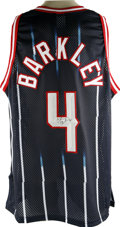 """Basketball Collectibles:Others, Charles Barkley Signed Houston Rockets Jersey. An eleven time All-Star, Charles """"The Round Mound of Rebound"""" Barkley was k..."""