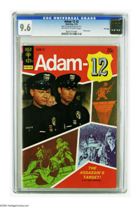 Adam 12 #2 File Copy (Gold Key, 1974) CGC NM+ 9.6 Off-white to white pages. Photo cover. Highest grade yet assigned by C...