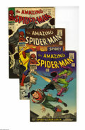 The Amazing Spider-Man #39-42 Group (Marvel, 1966) Condition: Average VG/FN. After a lengthy build-up, the identity and...