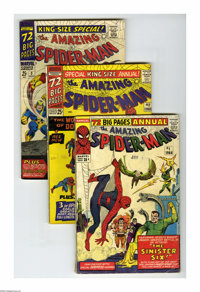 The Amazing Spider-Man Annual #1-4 Group (Marvel, 1964-67). The debut of the Sinister Six is among the highlights of thi...