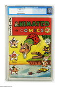"""Golden Age (1938-1955):Cartoon Character, Animated Comics #nn (EC, 1947) CGC FN/VF 7.0 Cream to off-white pages. Overstreet lists this comic as """"rare.""""Overstreet 2005..."""