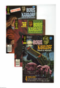 Silver Age (1956-1969):Horror, Boris Karloff Tales of Mystery Box Lot (Gold Key, 1972-78) Condition: Average VF/NM. This full short box includes Boris Ka...