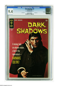 Dark Shadows #2 File Copy (Gold Key, 1969) CGC NM 9.4 Off-white pages. Photo cover. Joe Certa art. Overstreet 2005 NM- 9...