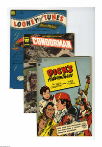 Dell/Gold Key Miscellaneous Comics Box Lot (Dell/Gold Key, 1950-78) Condition: Average VF/NM. This full short box featur...