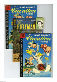 Dell/Gold Key Bugs Bunny and the Rifleman Group (Dell/Gold Key, 1958-64) Condition: Average VF. Includes three copies of...