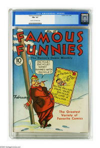 Famous Funnies #67 (Eastern Color, 1940) CGC FN+ 6.5 Cream to off-white pages. Just one other copy of issue #67 has rece...