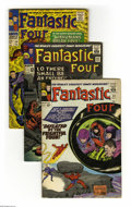 Silver Age (1956-1969):Superhero, Fantastic Four Group (Marvel, 1965-69) Condition: Average VG-. Nineteen-issue lot includes #38, 43, 59, 61, 63, 64, 69, 70, ... (Total: 19 Comic Books)