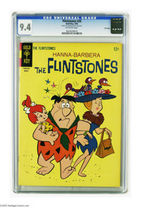 Flintstones #25 File Copy (Gold Key, 1965) CGC NM 9.4 Off-white pages. Overstreet 2005 NM- 9.2 value = $60. CGC census 1...