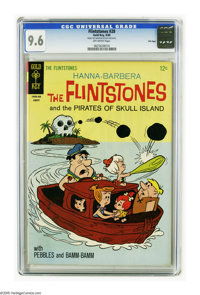 Flintstones #28 File Copy (Gold Key, 1965) CGC NM+ 9.6 Off-white pages. Overstreet 2005 NM- 9.2 value = $60. CGC census...