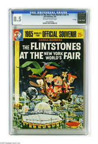 Flintstones at the New York World's Fair #nn - File Copy (Warren, 1965) CGC VF+ 8.5 Off-white to white pages. Re-issue;...