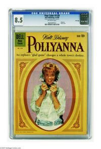 Four Color #1129 Pollyanna - File Copy (Dell, 1960) CGC VF+ 8.5 Off-white pages. Featuring Pollyanna. Hayley Mills photo...